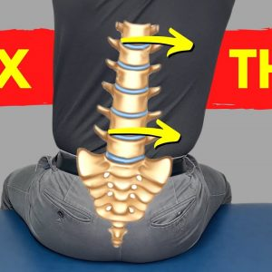How to Fix a TILTED BACK for Instant Relief