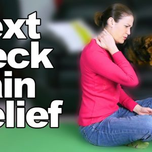 Text Neck Pain Relief Stretches & Exercises - Ask Doctor Jo